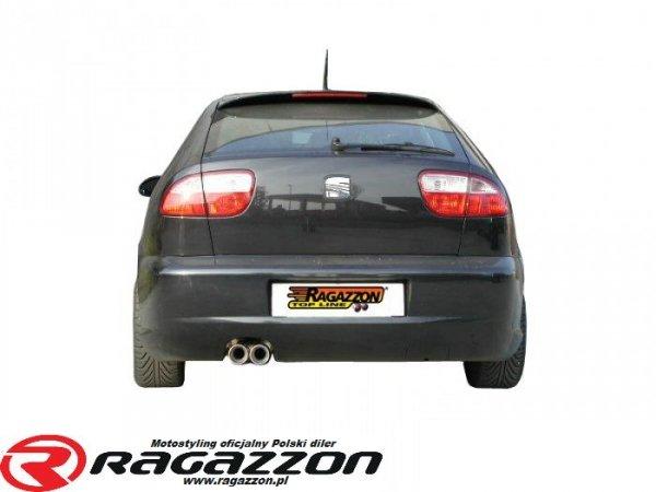 CATBACK tłumik środkowy + tłumik końcowy RAGAZZON Seat Leon 1M 1.8 TURBO 20V sportowy wydech