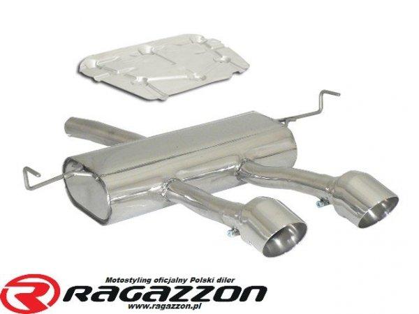 Tłumik końcowy podwójny RAGAZZON TOP LINE CADAMURO sportowy wydech
