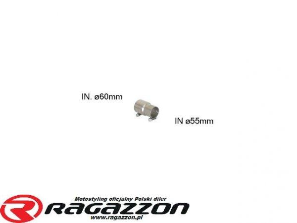 Złączka adapter przejściówka wydechu RAGAZZON EVO LINE sportowy wydech