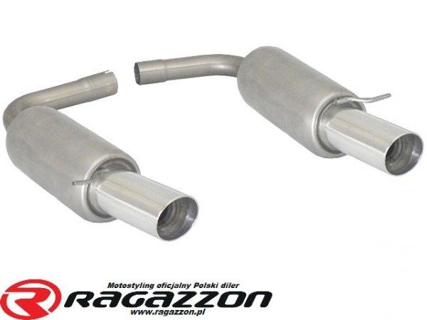 Tłumik końcowy podwójny RAGAZZON H2 FLOW LINE sportowy wydech