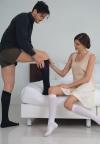 RELAXSAN Podkolanówki męskie przeciwżylakowe z bawełną (ucisk 18-22 mmHg)