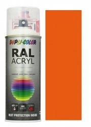 MOTIP lakier pomarańczowy farba połysk 400 ml akrylowy acryl szybkoschnący RAL 2004