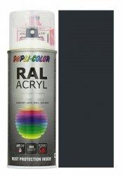 Motip lakier czarny drogowy farba mat 400 ml akrylowy acryl szybkoschnący RAL 9017