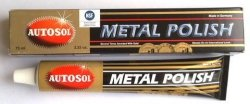 AUTOSOL pasta polerska metal polish do metalu, chromu, miedzi, niklu 75ml
