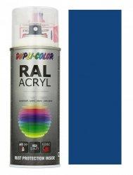 MOTIP lakier niebieski farba półmat 400 ml akrylowy acryl szybkoschnący RAL 5010