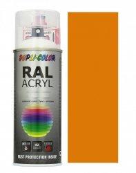 MOTIP lakier żółty pomarańcz farba połysk 400 ml akrylowy acryl szybkoschnący RAL 2000
