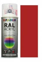 MOTIP lakier czerwony ognisty farba mat 400 ml akrylowy acryl szybkoschnący RAL 3000