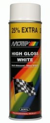 MOTIP lakier BIAŁY farba akrylowy SPRAY 500 ml