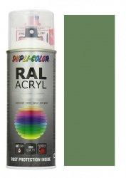 MOTIP lakier zielony rezeda farba połysk 400 ml akrylowy acryl szybkoschnący RAL 6011