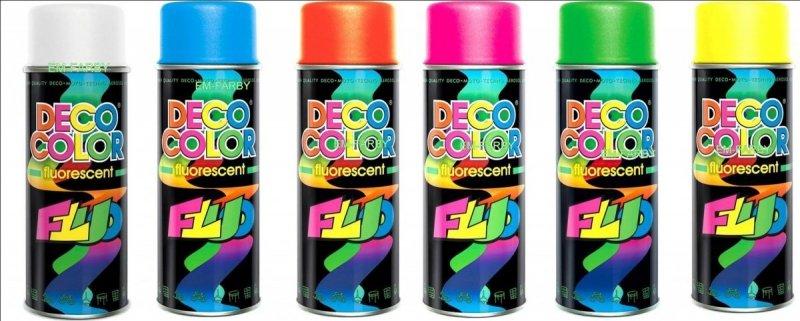 deco color farby fluorescencyjne paleta kolorów
