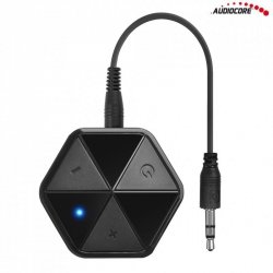 Audiocore AC815 Adapter bluetooth odbiornik z klipsem - HSP, HFP, A2DP