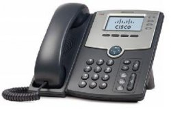 Cisco 1-Line IP Phone with Display, PoE, PC Port