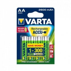 VARTA AKUMULATORY R6 2600 mAh 4szt professional ready 2 use