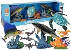 Zestaw Zwierząt Morskich Ruchome Elementy
