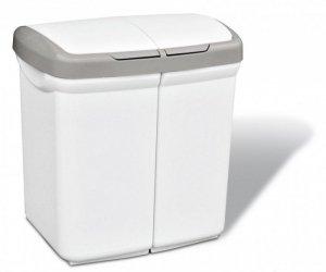 Kosz na śmieci Meliconi Ecobin 50 L biały