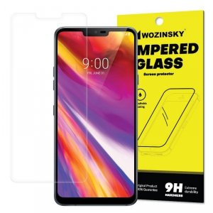 Wozinsky Tempered Glass szkło hartowane SCO (Screen Center Only) LG G7 ThinQ (opakowanie – koperta)
