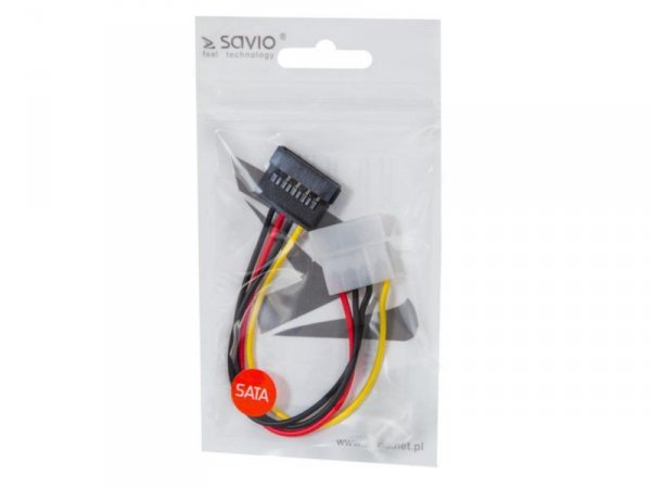 SAVIO AK-10 Adapter Molex(IDE) - SATA Adapter