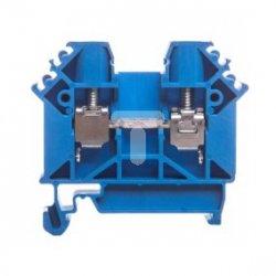 Złączka szynowa gwintowa ZUG-G 6 niebieski R34RR-01010110001