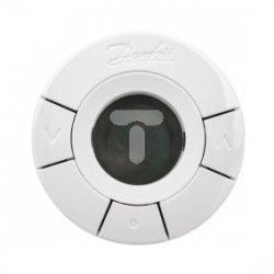 Głowica termostatyczna elektroniczna z dwoma czujnikami temperatury Wave Living Connect 014G0013