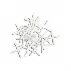 Krzyżyki dystansowe plastikowe 4.0 mm, 16B840 /100szt./