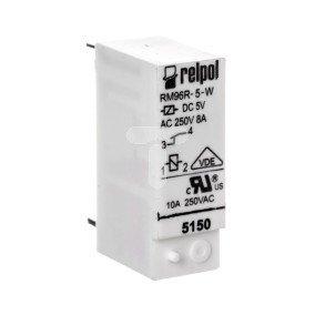 Przekaźnik miniaturowy 1R 8A 5V DC PCB RM96-1031-35-1005 301280