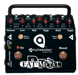 Amptweaker FatMetal Pro - Pro Series Metal Distortion / Boost