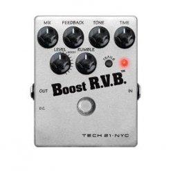 Tech 21 Boost R.V.B. Reverb Transport Gratis!