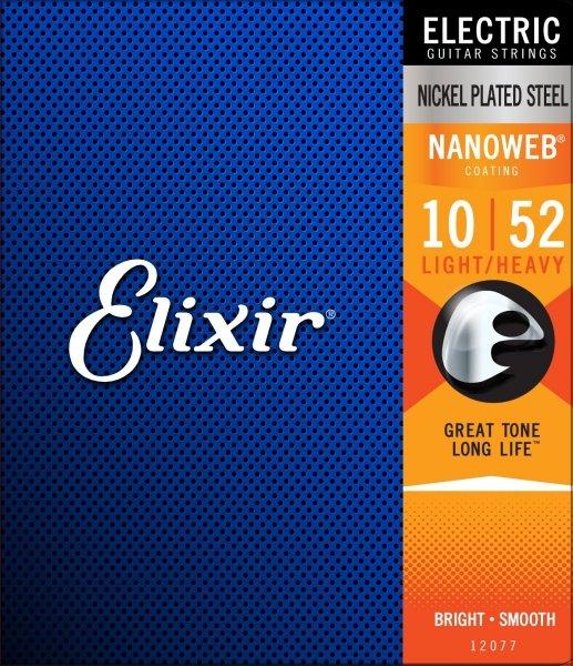 Elixir 12077 NanoWeb Light 10-52