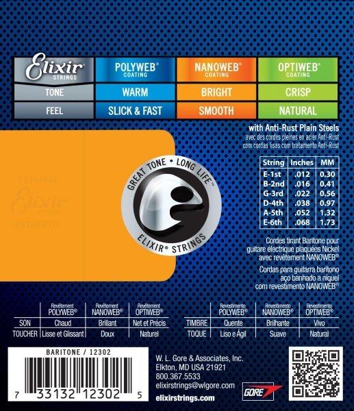 Elixir 12302 Baryton 12-68