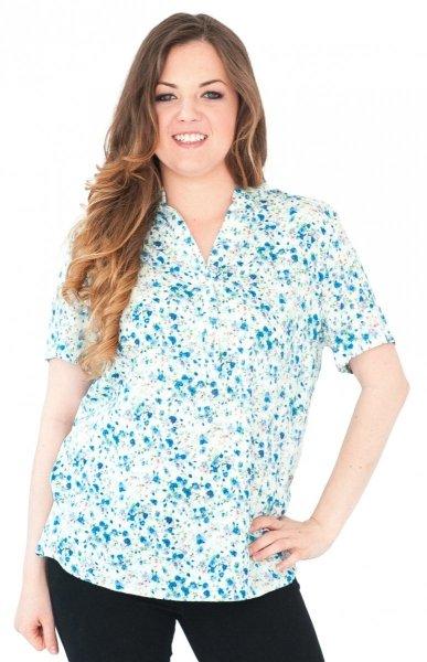 Koszula stójka, bluzka, Kreator Studio Mody, r46