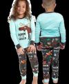 Born to be Wild - Pyžamo dětské dlouhý rukáv – LazyOne
