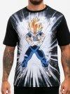 Vegeta Super Saiyan Attack - Dragon Ball
