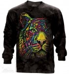 Rainbow Tiger - Long Sleeve The Mountain