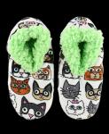 Catittude Fuzzy Feet - Papučky - LazyOne