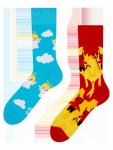 Anděl A Ďábel - Ponožky Good Mood