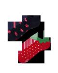 Strawberries - Krátké Ponožky - Many Mornings