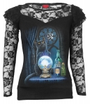 The Witches Aprentice - Lace Long Sleeve Spiral - Damska