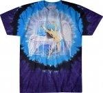 Led Zeppelin Swan Song - Liquid Blue