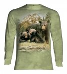 Black Bear Family  - Long Sleeve The Mountain