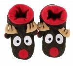 Reindeer Woodland Slippers - Papcie - LazyOne