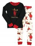 Almoose Asleep - Piżama Dziecięca Długi rękaw - LazyOne