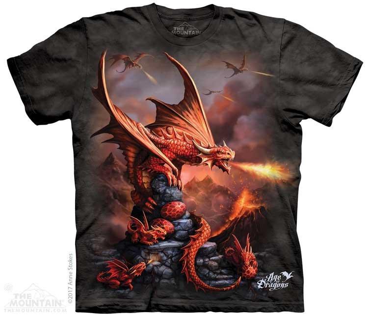 efc86dbd8 Sklep veoevo.pl - Koszulki Malowane Pazurem - Fire Dragon - The ...