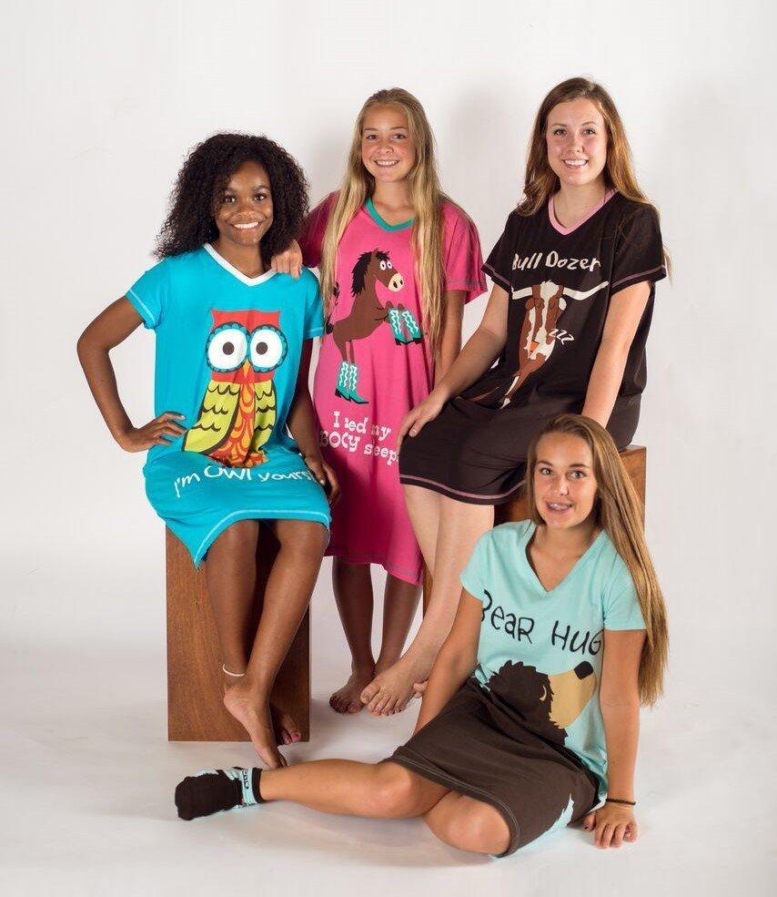 bd2df47361 I m Owl Yours! Nightshirt - Koszula nocna - LazyOne - koszula nocna z sową  - www.veoveo.pl