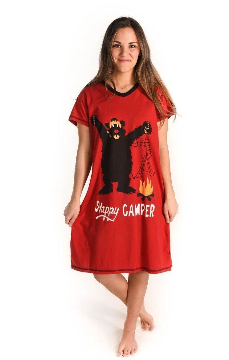 Happy Camper Nightshirt - Koszula nocna - LazyOne - koszula nocna z ... e52e52312