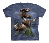 Moose Collage -The Mountain - Koszulka Dziecięca