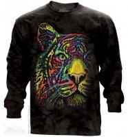 Rainbow Tiger - Long Sleeve The Mountain