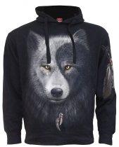 Wolf Chi - Side Pocket - Mikina -Spiral