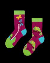 Chameleón - Ponožky Pro Děti - Many Mornings