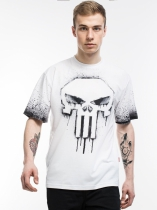 Punisher Comics Painted Logo - Marvel