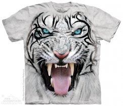 Big Face Tribal White Tiger - The Mountain